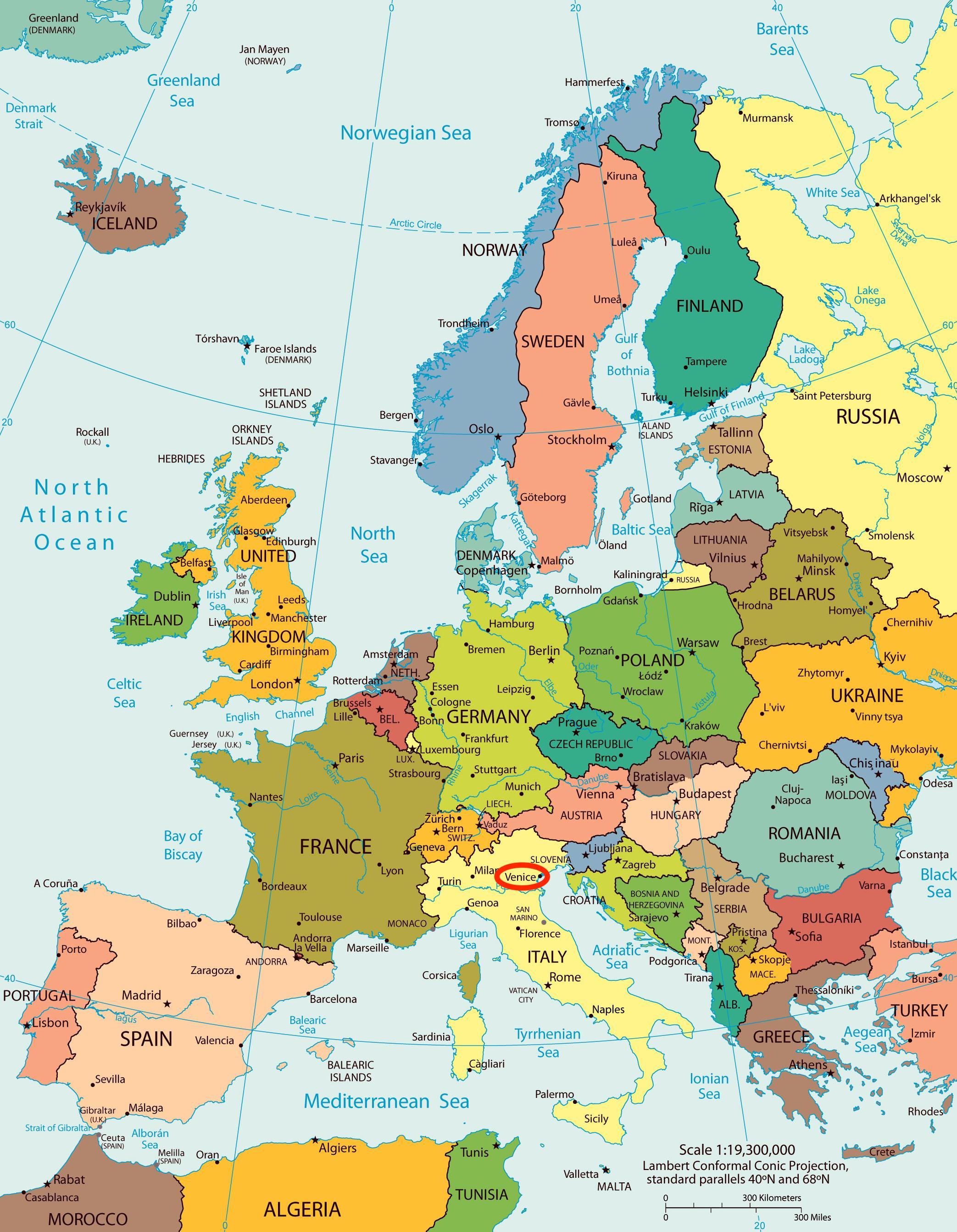 Gammal Karta Italien.Karta Over Venedig Europa Karta For Karta Over Venedig Europa
