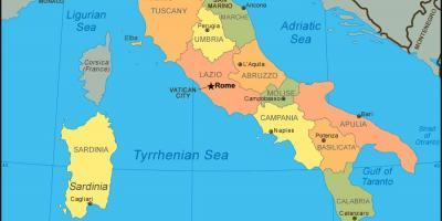 Karta Over Venedig Kartor Venedig Italien