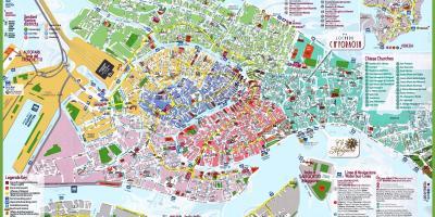 Gammal Karta Italien.Karta Over Venedig Kartor Venedig Italien